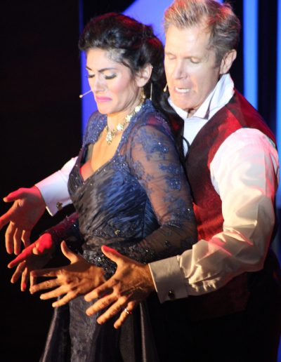 Alyssa Curto & David Rogers in Dracula: A Chamber Musical
