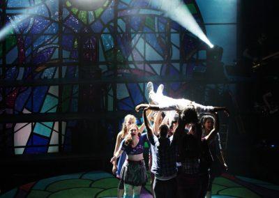 The Company<br>of Godspell, 2012