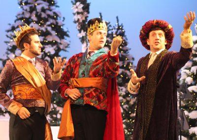 Brian Barger, Jesse Grandmont & Alex Baerg<br>in Starbright Christmas, 2019